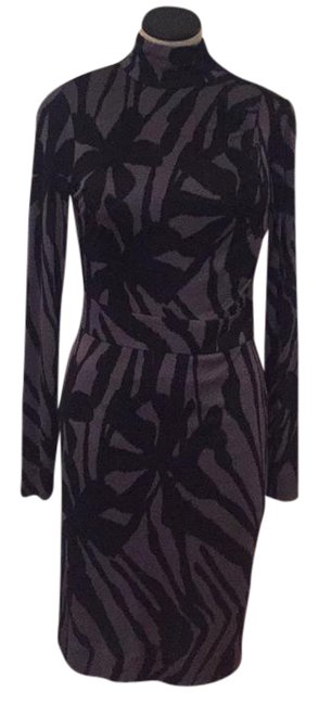 Item - Black Gray 24102424 Mid-length Night Out Dress Size 6 (S)