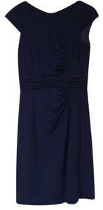 Kay Unger Blue Office Dress
