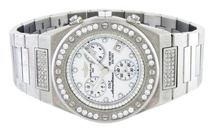 Breitling Techno Mania Watch with Custom Made Bezel and Breitling Dial