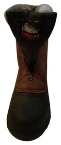 Itasca Waterproof Insulated Cushioned Suede Upper Faux Fur Trim Waterproof Suede Boots