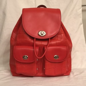 Coach Tavel/weekend New Handbag Leather Backpack