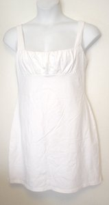 Victoria's Secret short dress White Tank Inset Bust on Tradesy