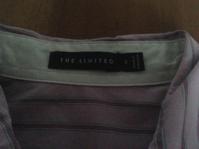 The Limited Button Down Shirt Pink/grey