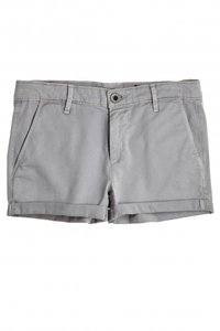 AG Adriano Goldschmied Short Cuffed Shorts Grey