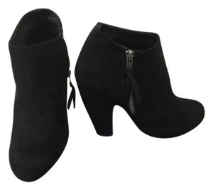 Madden Girl Suede Black Boots
