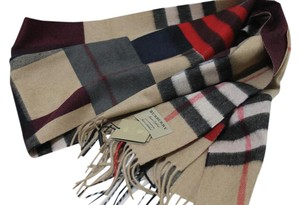Burberry THE CLASSIC CASHMERE SCARF IN COLOR BLOCK CHECH