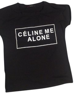 tbd Nwt Celine T Shirt black