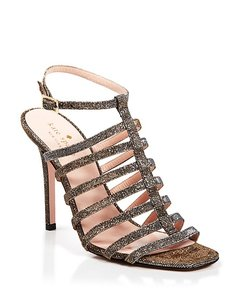 Kate Spade Gold, Silver Sandals