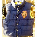 Polo Ralph Lauren Navy/Yellow Boys Reversibile Crested Puffer 8-10 Vest Size OS (one size) Polo Ralph Lauren Navy/Yellow Boys Reversibile Crested Puffer 8-10 Vest Size OS (one size) Image 2