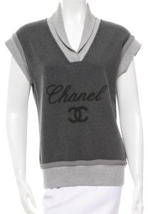Chanel Top Grey