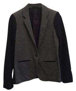 J.Crew Navy and Gray Blazer