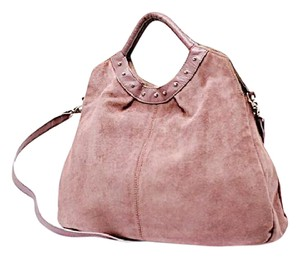 Suarez Suede Shoulder Bag