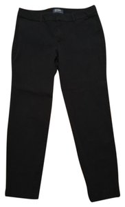 Old Navy Pixie Cropped Trouser Pants Navy Blue