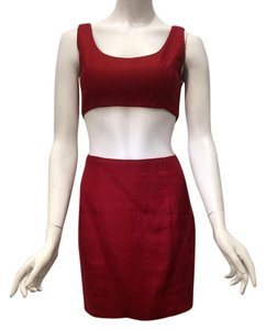 Michael Kors Collection Vintage Cropped Dress