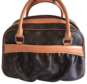 Louis Vuitton monogram canvas MIZI satchel Satchel in brown
