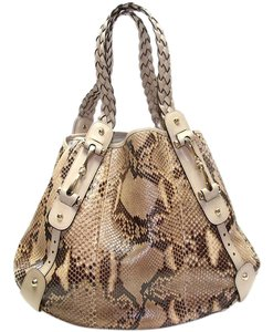 Gucci Snakeskin Hobo Bag