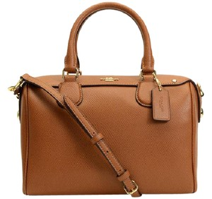 Coach Bennett Satchel in Brown