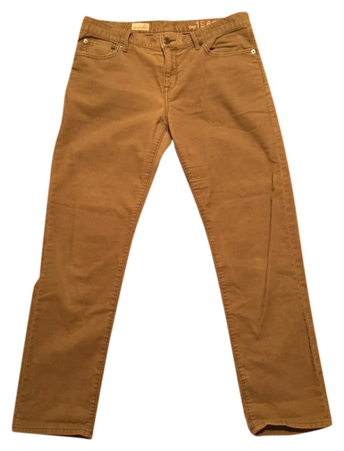 Item - Tan Corduroy Sexy Pants Size 4 (S, 27)