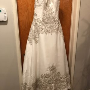 Oleg Cassini New Oleg Cassini Wedding Gown (ivory) Wedding Dress