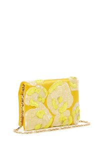 Oscar de la Renta Neon Shoulder Bag