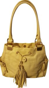 Pelle Studio Satchel in Yellow