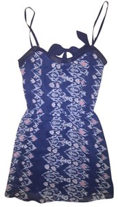 Hollister short dress Navy Sheer on Tradesy