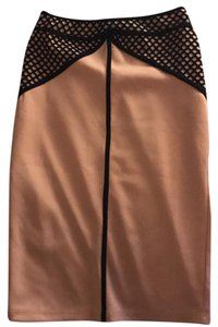 Forever 21 Skirt Blush/black