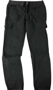 Mossimo Cargo Pockets Skinny Pants Dark Gray