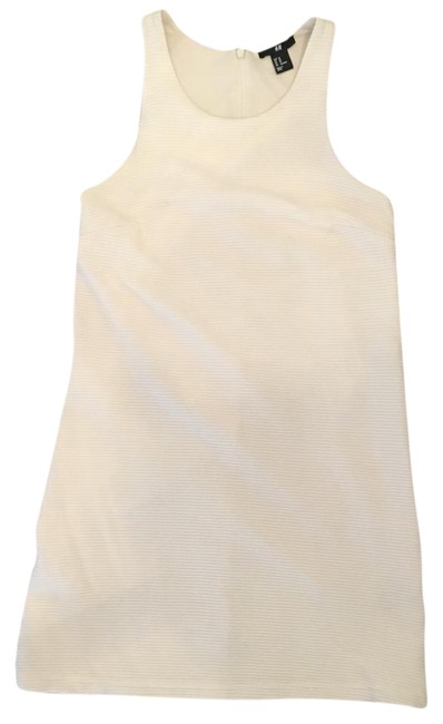 Item - Cream H & M Above Knee Night Out Dress Size 2 (XS)