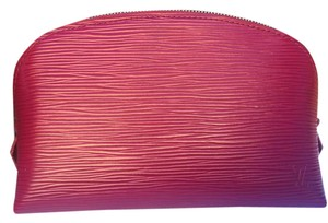 Louis Vuitton Cosmetic Pouch PM in Epi Leather Fuchsia