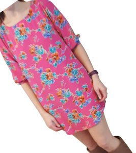 Everly short dress Pink on Tradesy