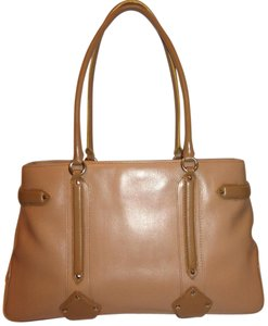 Cole Haan Refurbished Leather Tan Lined Hobo Bag