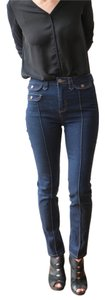 Dear Creatures Liberty High Waisted Skinny Jeans-Dark Rinse