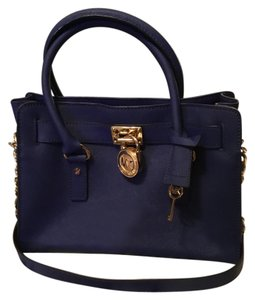 Michael Kors Prestine Condition Royal Satchel in Blue