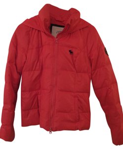 Abercrombie & Fitch Orange Jacket