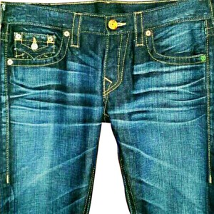True Religion Skinny Jeans-Acid