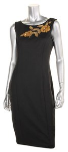 Ellen Tracy Womens Flame Dress