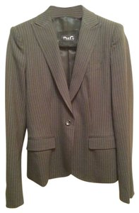 D&G DOLCE & CABBANA GREY/WHITE PINSTRIPE SUIT