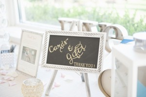 Card And Gifts Wedding Sign