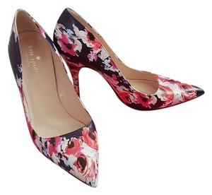 Kate Spade Classic Chic Floral Limited Edition Multi Floral Pumps