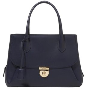 Salvatore Ferragamo Tote in Oxford blue
