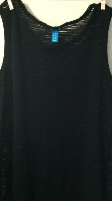 sessa short dress black Mesh Coverup on Tradesy