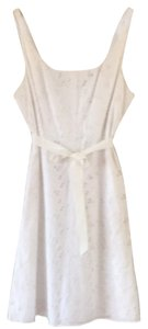 J.Crew short dress White Eyelet on Tradesy