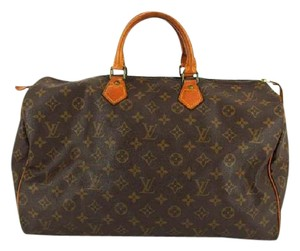 Louis Vuitton Monogram Speedy 35 Speedy 40 Speedy 45 Keepall 40 Keepal 45 Travel Bag
