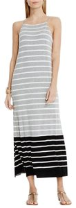 Multi : White , Black & grey Maxi Dress by Vince Camuto