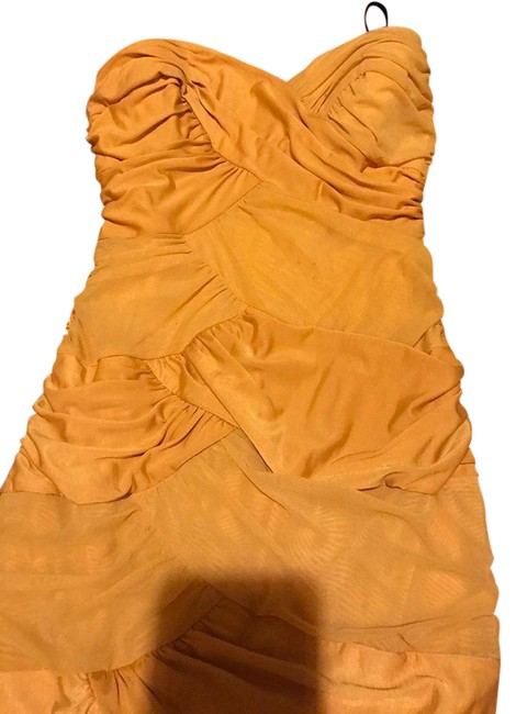 Item - Yellow Mid-length Night Out Dress Size 0 (XS)