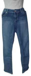Maurices Straight Leg Jeans-Light Wash