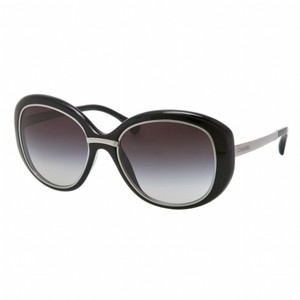 Chanel NEW Chanel 6045T Polarized Black Rounded Sunglasses