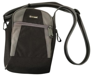 Pacsafe Anti-theft Black and Gray accent Travel Bag