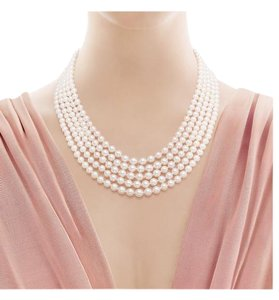 Tiffany & Co. Ziegfeld Freshwater 5 strand Pearl Necklace
